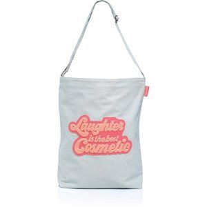 Benefit Laughter is the Best Cosmetic Tote Bag NEW